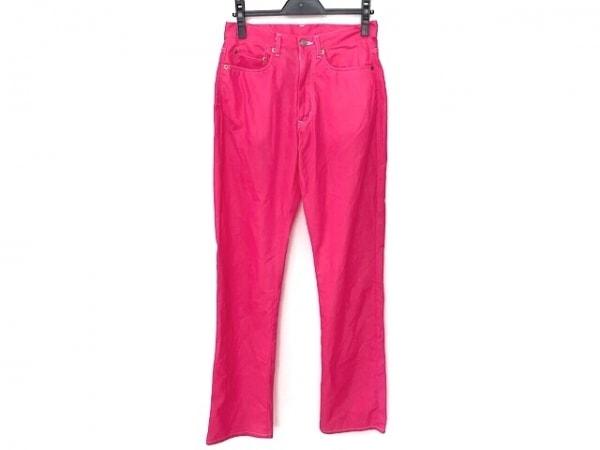 COMMEdesGARCONS(コムデギャルソン) パンツ サイズM レディース美品  ピンク