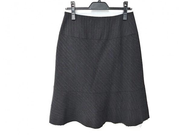 コムデギャルソンジュンヤワタナベ スカート サイズS レディース美品  斜めストライプ