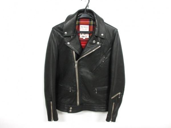 ルイスレザーズ ライダースジャケット サイズ38 M メンズ サイクロン 黒