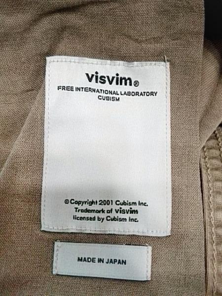 VISVIM(ビズビム) ハーフパンツ サイズ1 S メンズ ベージュ