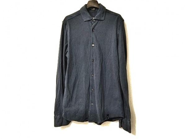Drumohr(ドルモア) 長袖シャツ サイズM メンズ ブルー