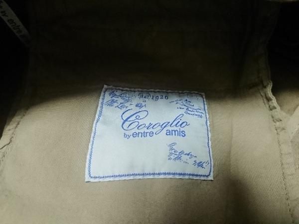 ENTRE AMIS(アントレアミ) ハーフパンツ サイズ44 L メンズ新品同様  カーキ coroglio