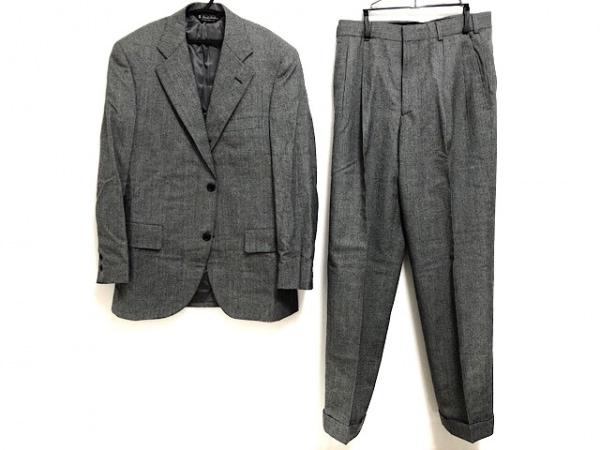 BrooksBrothers(ブルックスブラザーズ) シングルスーツ メンズ美品  黒×グレー
