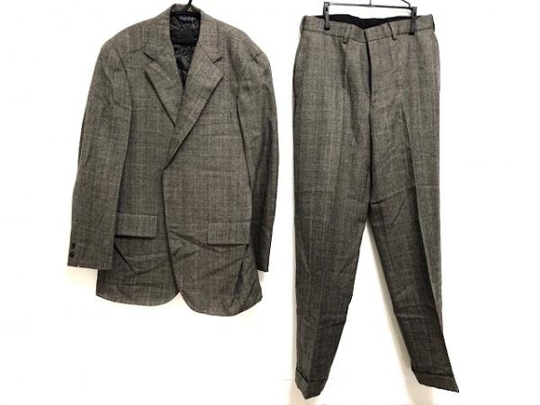 ブルックスブラザーズ シングルスーツ メンズ美品  ダークブラウン×ブラウン