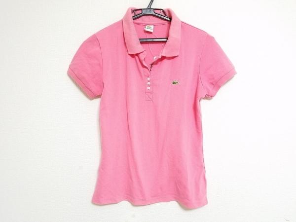 Lacoste(ラコステ) 半袖ポロシャツ サイズM レディース ピンク