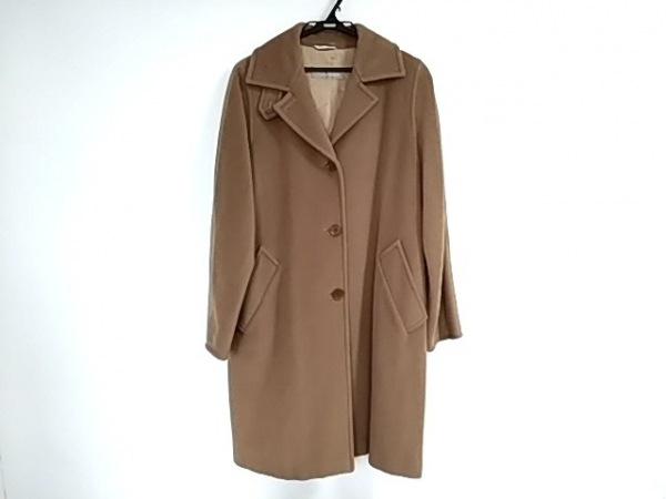Max Mara(マックスマーラ) コート サイズ40 M レディース美品  ブラウン 冬物