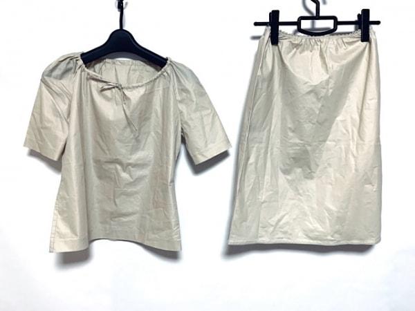 MACPHEE(マカフィ) スカートセットアップ サイズ36 S レディース美品  ベージュ
