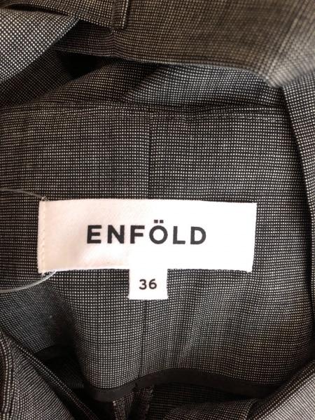 ENFOLD(エンフォルド) オールインワン サイズ36 S レディース グレー
