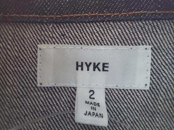 HYKE(ハイク) Gジャン サイズ2 M レディース美品  ネイビー 春・秋物
