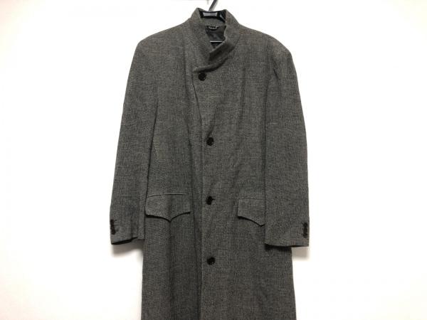 VERRI(ヴェリ) コート メンズ美品  黒×白×グレーブラウン