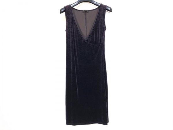 ビーシービージードレス ワンピース サイズM レディース パープル ベロア