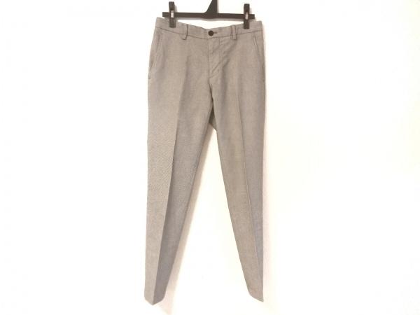 JOSEPH HOMME(ジョセフオム) パンツ サイズ44 L メンズ美品  黒×ライトグレー
