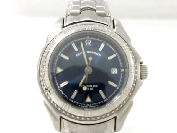 REVUE THOMMEN(レビュートーメン) 腕時計 291005 レディース ネイビー