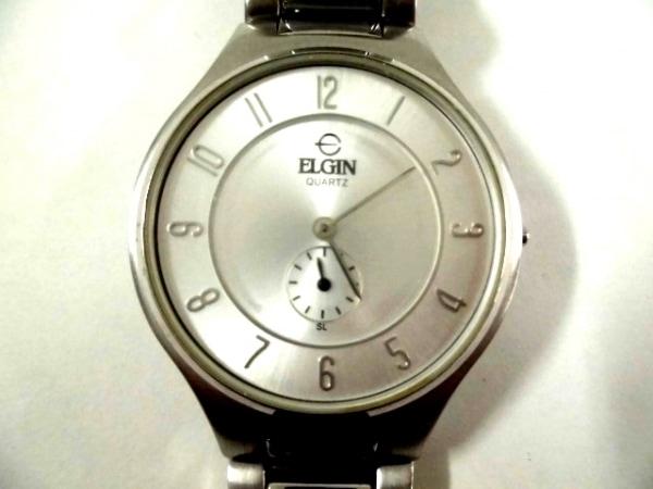 ELGIN(エルジン) 腕時計 FK-1258-SL メンズ シルバー