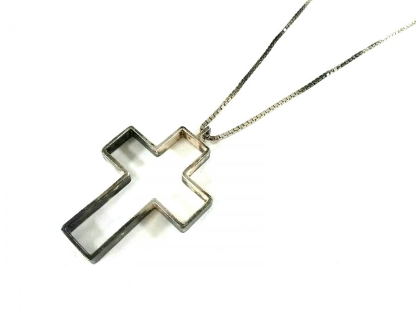 GUCCI(グッチ) ネックレス - シルバー クロス