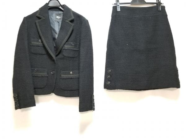 Harriss(ハリス) スカートスーツ レディース 黒