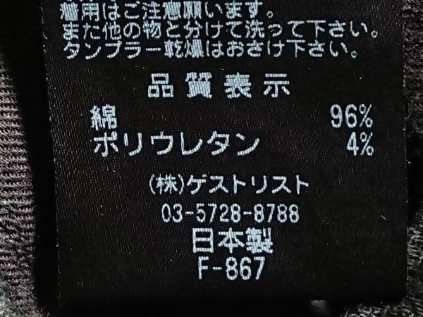 RED CARD(レッドカード) パンツ サイズ23 レディース 黒 glenwood