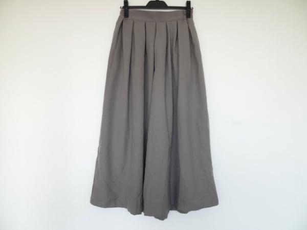 mizuiro  ind(ミズイロインド) パンツ サイズ2 M レディース グレー ワイドパンツ