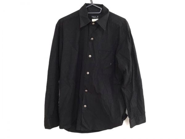 agnes b(アニエスベー) 長袖シャツ サイズ1 S メンズ 黒 homme