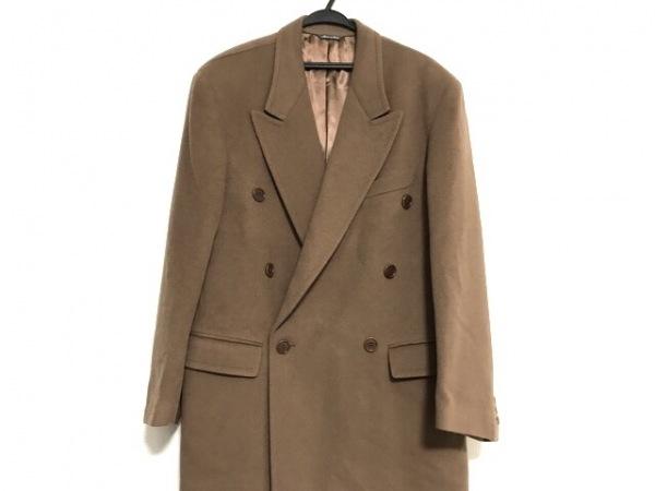 STRASBURGO(ストラスブルゴ) コート サイズ48 XL メンズ美品  ブラウン カシミヤ/冬物