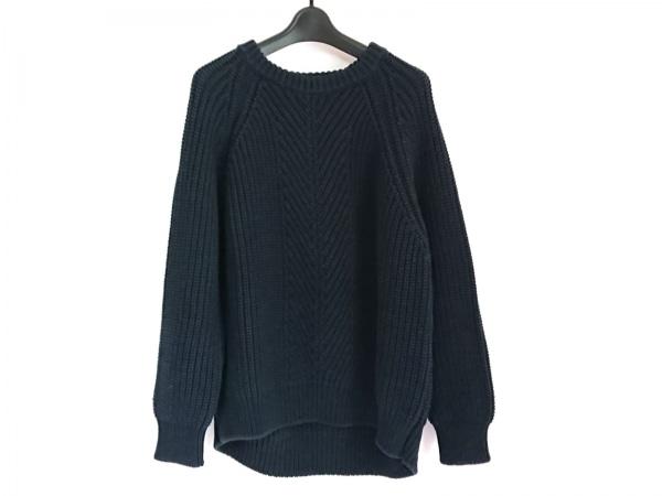 EMPORIOARMANI(エンポリオアルマーニ) 長袖セーター サイズ44 S メンズ ネイビー
