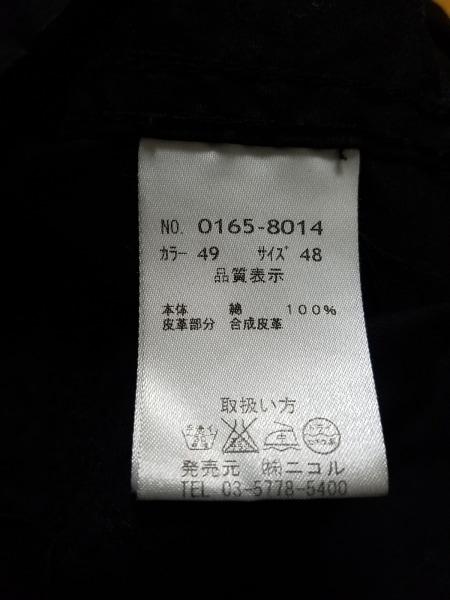 ハイダウェイニコル ブルゾン サイズ48 XL メンズ 黒 ジップアップ/春・秋物
