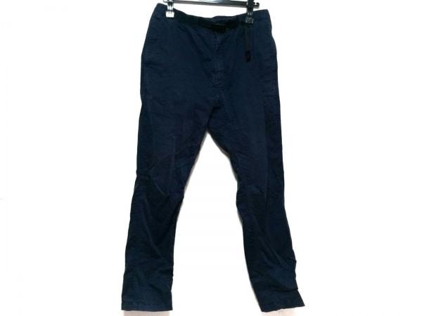 Gramicci(グラミチ) パンツ サイズL メンズ美品  ネイビー