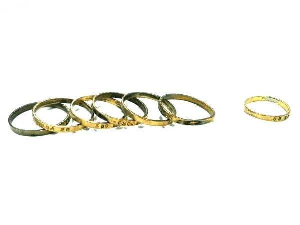 セルジュ トラヴァル リング 金属素材 ゴールド ピンキーリングセット/6連