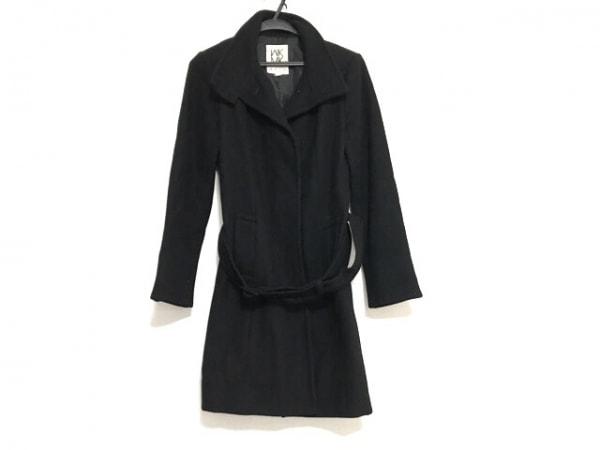 MICHELKLEIN(ミッシェルクラン) コート サイズ38 M レディース美品  黒 冬物