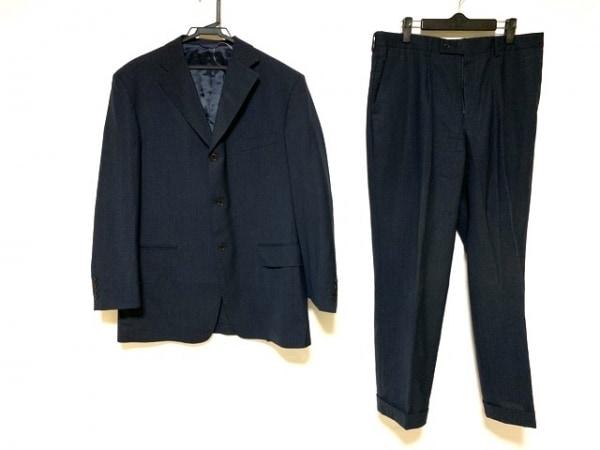 KENT&CURWEN(ケント&カーウェン) シングルスーツ メンズ美品  ダークネイビー