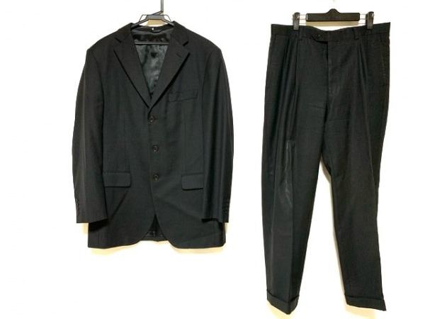 CERRUTI 1881(セルッティ1881) シングルスーツ サイズ48 XL メンズ美品  黒