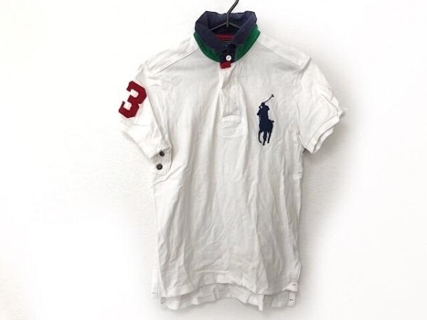 ポロラルフローレン 半袖ポロシャツ サイズS レディース ビッグポニー