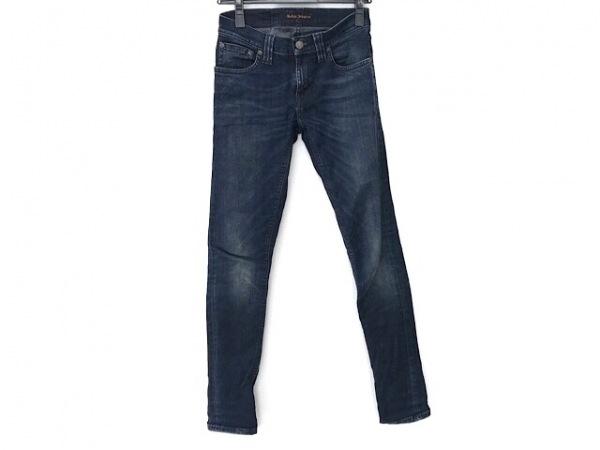 NudieJeans(ヌーディージーンズ) ジーンズ サイズ32 XS レディース ネイビー
