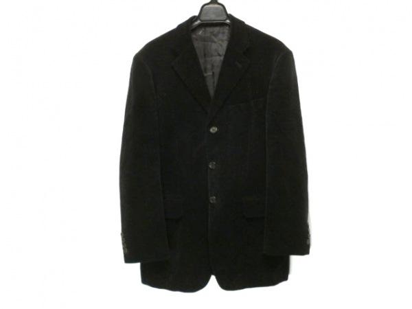 PaulSmith(ポールスミス) ジャケット サイズM メンズ 黒 肩パッド/ベロア