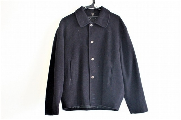 ErmenegildoZegna(ゼニア) コート サイズ46 XL メンズ美品  ダークネイビー 冬物