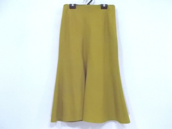 ADORE(アドーア) ロングスカート サイズ38 M レディース美品  ベージュ