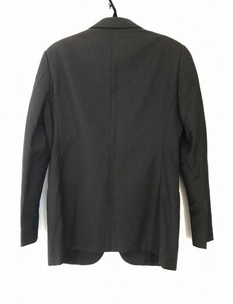 アルマーニコレッツォーニ ジャケット サイズ46 S メンズ 肩パッド/ストライプ