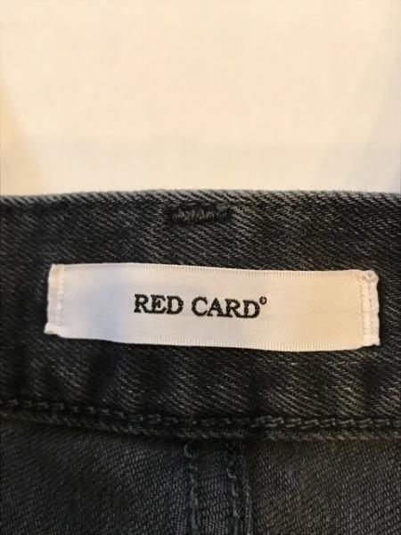 RED CARD(レッドカード) ジーンズ サイズ23 レディース 黒