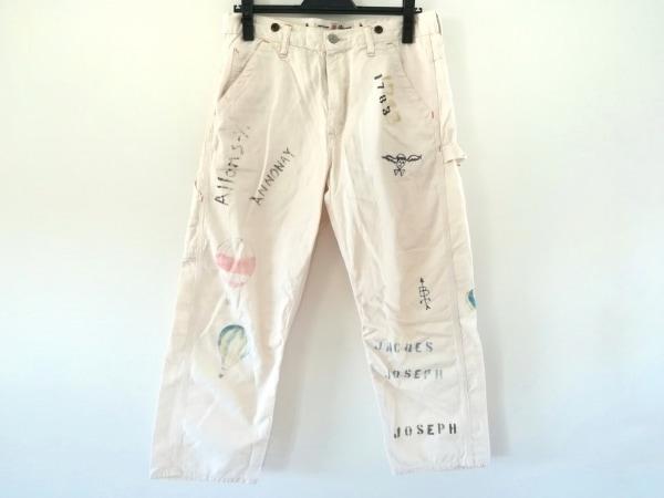 Brocante(ブロカント) パンツ サイズ2 M レディース アイボリー×マルチ