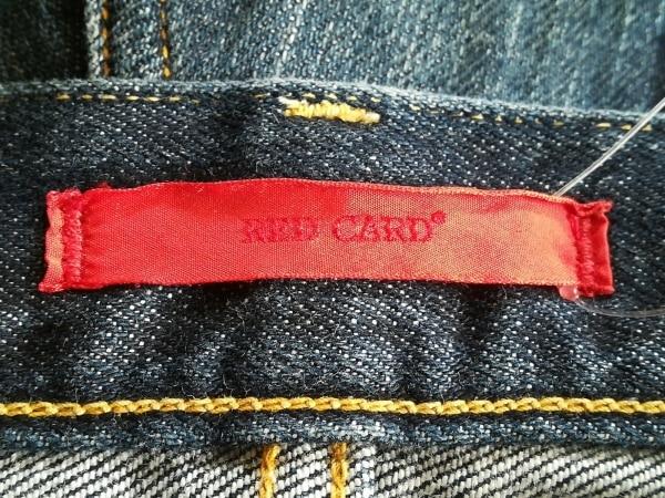 RED CARD(レッドカード) ジーンズ サイズ26 S レディース ネイビー