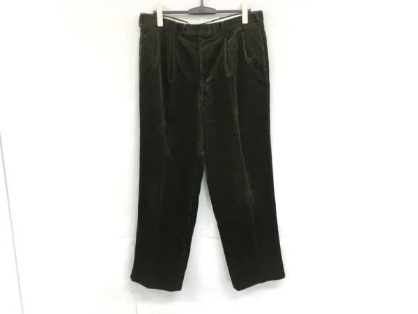 Burberry's(バーバリーズ) パンツ サイズ94 メンズ ダークグリーン コーデュロイ