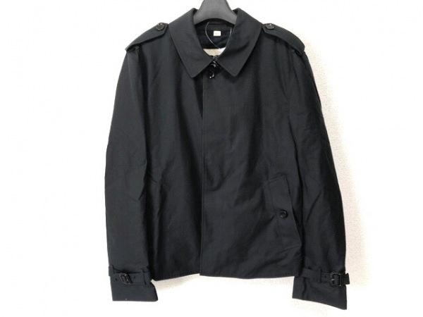 バーバリープローサム コート サイズ50R メンズ ダークネイビー 春・秋物/ショート丈