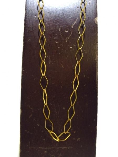 UNOAERRE(ウノアエレ) ネックレス美品  K18YG