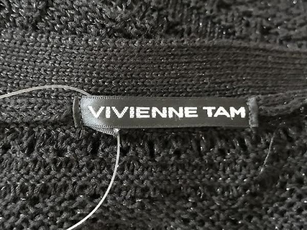 VIVIENNE TAM(ヴィヴィアンタム) ポンチョ サイズ0 XS レディース美品  黒