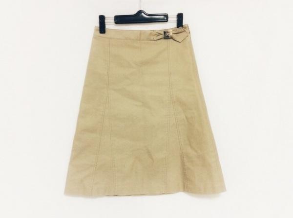 バーバリーブルーレーベル スカート サイズ36 S レディース ベージュ