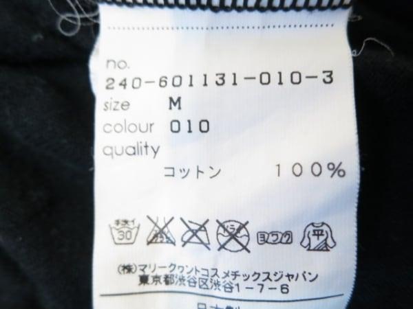 マリークワント 半袖Tシャツ サイズM レディース美品  黒×ピンク×マルチ