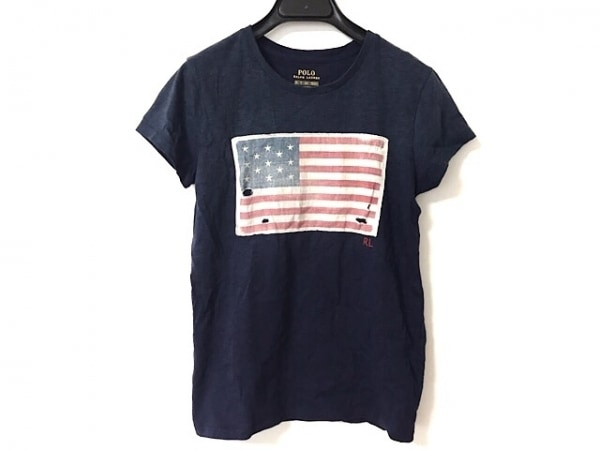 ポロラルフローレン 半袖Tシャツ サイズXS レディース美品  ダメージ加工