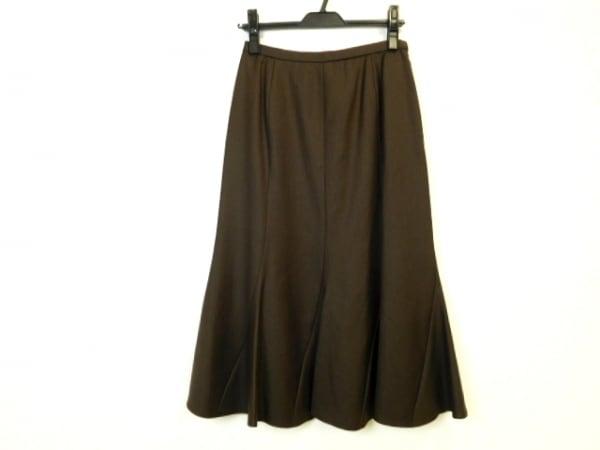 Leilian(レリアン) スカート サイズ9 M レディース ダークブラウン