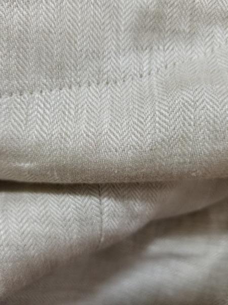 マックスマーラ ジャケット サイズ40 M レディース ベージュ×アイボリー リネン