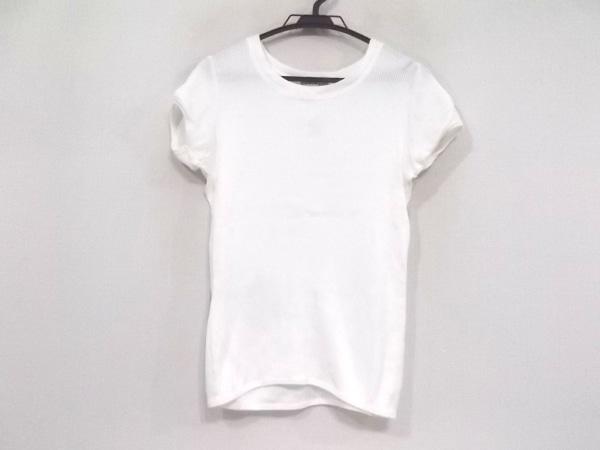 シンクロクロシング 半袖カットソー サイズ38 M レディース美品  白